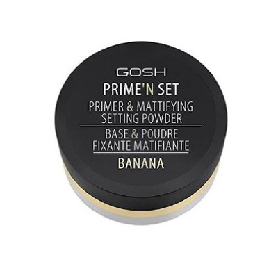 Gosh - Prime?n Set Primer & Mattifying Setting Powder BANANA - 7gr