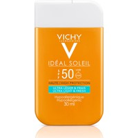 Vichy Ideal Soleil High Protection Ultra Light & Fresh SPF50+ 30ml - Αντηλιακή Κρέμα Προσώπου