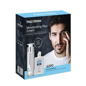 FREZYDERM Moisturizing plus cream 50ml & Δώρο Every day shampoo 100ml