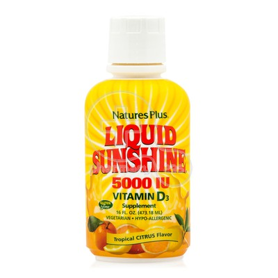 NATURE'S PLUS - Liquid Sunshine Vitamin D3 5000iu - 473ml