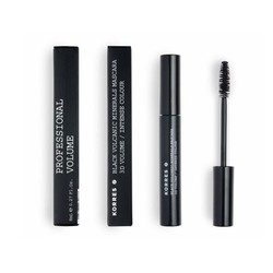 Korres Black Volcanic Minerals Mascara 3D Volume / Intensive Colour 02 Καφέ