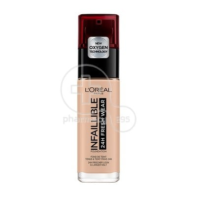 L'OREAL PARIS - INFALLIBLE 24h Fresh Wear Foundation No110 (Rose Vanilla) - 30ml