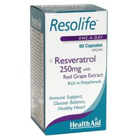 HEALTH AID RESOLIFE 250MG 60VEGICAPS