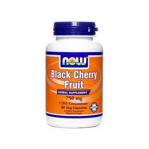 Now foods black cherry fruit 750 mg