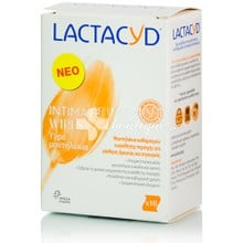 Lactacyd Intimate Wipes - Μαντιλάκια καθαρισμού, 10τεμ.