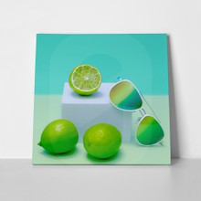 Lime and sunglasses 404510593 a