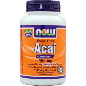 Now foods acai 500 mg