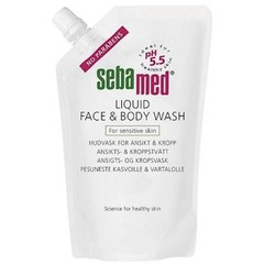 Sebamed Liquid Face & Body Wash Refill 400ml