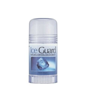 Ice guard crystal