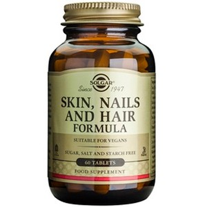 SOLGAR Skin-nails & hair formula 60tablets