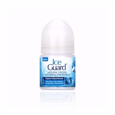 OPTIMA - ICE GUARD Natural Crystal Rollball Unperfumed - 50ml