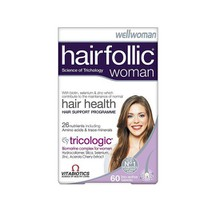 VITABIOTICS WELLWOMAN HAIRFOLLIC 60TABL