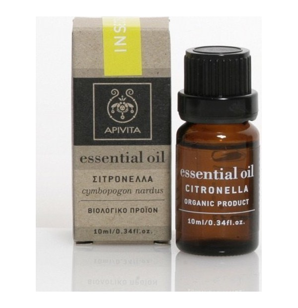 APIVITA ESS. CITRONELLA 10ML