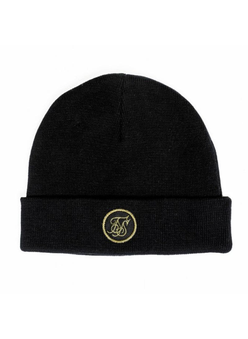 SikSilk Fisherman Beanie - Black