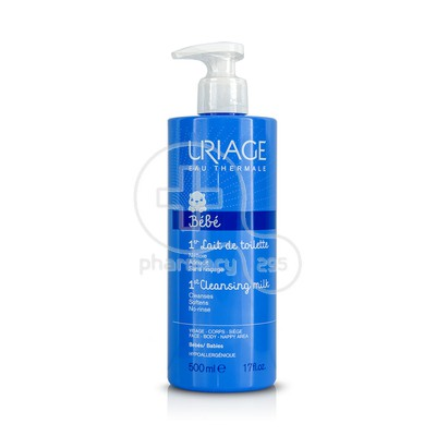 URIAGE - BEBE 1er Lait de Toilette - 500ml