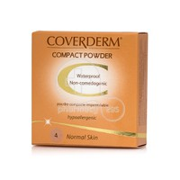 COVERDERM - COMPACT POWDER Normal Skin No4 - 10gr