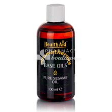 Health Aid Έλαιο ΣΗΣΑΜΕΛΑΙΟ - Pure Sesame Oil, 100ml