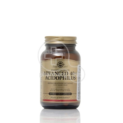 SOLGAR - Advanced 40+ Acidophilus - 60caps