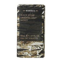 KORRES EAU DE TOILETTE BLACK SUGAR 50ML