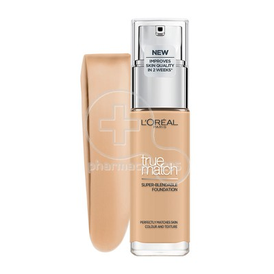 L'OREAL PARIS - TRUE MATCH Super Blendable Foundation 3.N (Beige Creme) - 30ml