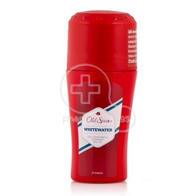 OLD SPICE - WHITEWATER Anti-Respirant & Deodorant Roll On - 50ml