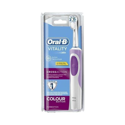 ORAL-B - VITALITY 2D Action Technologie Cross Action (Μωβ)
