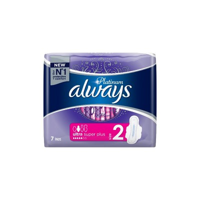 Always - Platinum Size 2 ultra super plus - 7τεμ.