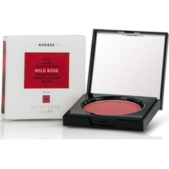 Korres Wild Rose Brightening Vibrant Colour Blush 24 Dusty Rose - Ρουζ  Άγριο Τριαντάφυλλο, 5.5g