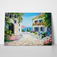 Greek summer painting 2 a