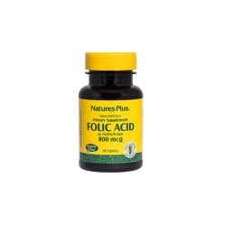 Nature's Plus Folic Acid 800mcg 90 ταμπλέτες
