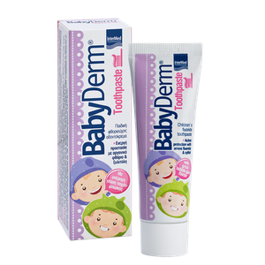 Intermed babyderm toothpaste bubblegum