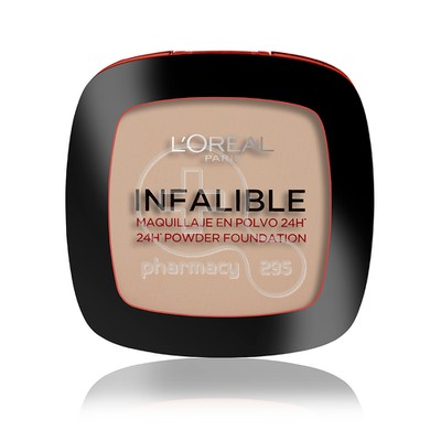 L'OREAL PARIS - INFALLIBLE 24h Powder Foundation No123 (Warm Vanille) - 9gr