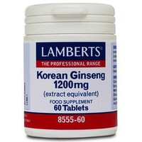 LAMBERTS KOREAN GINSENG 1200MG 60TABL