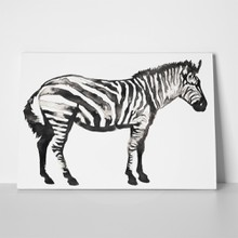 Painting water ink zebra 642024841 a