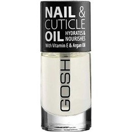 Gosh Nail & Cuticle Oil with Vitamin E & Argan Oil, 8ml