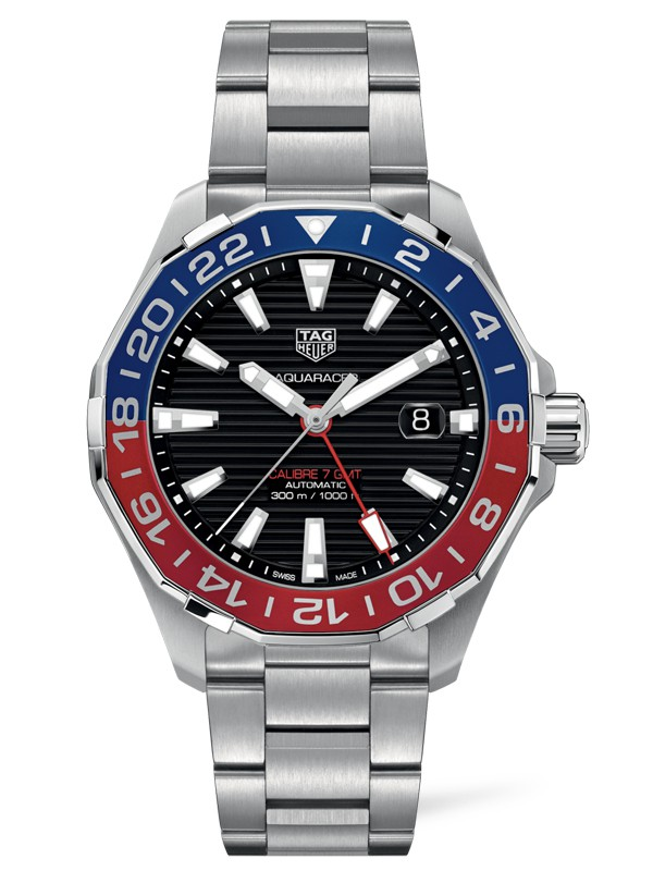Aquaracer Calibre 7 GMT