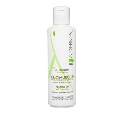 A-DERMA - DERMALIBOUR GEL MOUSSANT - 250ml