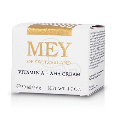 MEY - VITAMIN A+AHA Cream - 50ml