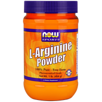 NOW SPORTS L-ARGININE POWDER, 454 GR
