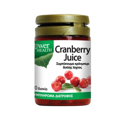 Power Health - Cranberry Juice - 30caps