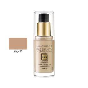 MAX FACTOR ALL DAY FLAWLESS 3ΙΝ1 FOUNDATION  55 BEIGE