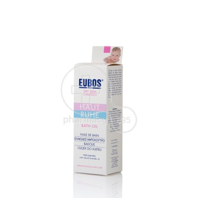 EUBOS - BABY BATH OIL - 125ml