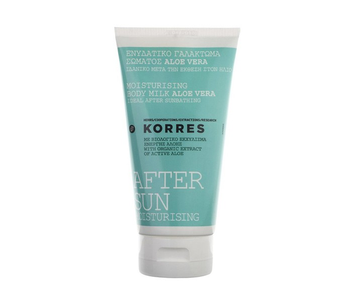 KORRES AFTER SUN ALOE VERA BODY MILK 150ML