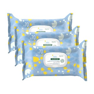 Klorane bebe cleansing wipes