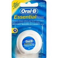 ORAL-B DENTAL FLOSS UNWAXED 50M
