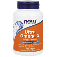 NOW ULTRA OMEGA-3,  90 SOFTGELS
