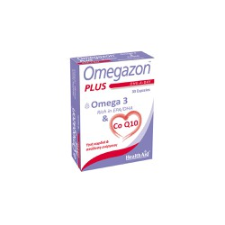 Health Aid Omegazon Plus Ω3 & CoQ10 30 κάψουλες