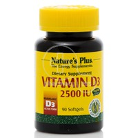 NATURE'S PLUS - Vitamin D3 2500 IU - 90 softgels