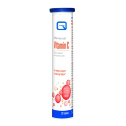 QUEST Vitamins Vitamin C 1000mg with Rosehips & Rutin 20tabs - Αναβράζον