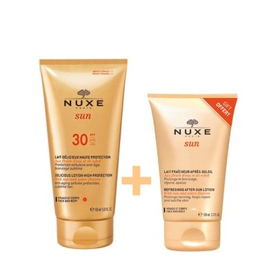 Nuxe - Promo Sun Delicious Lotion Αντηλιακό Γαλάκτωμα Προσώπου & Σώματος SPF30 150ml & ΔΩΡΟ Refreshing After Sun Lotion - 100ml